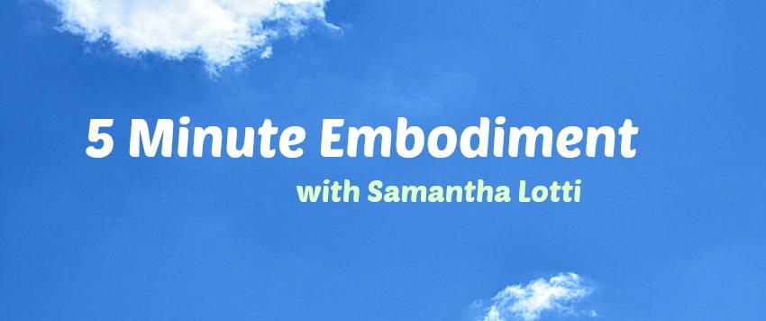 Samantha Lotti meditation